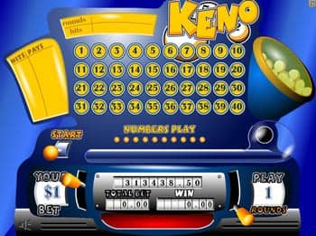 Variera dina spelbrickor - vinn mer på Keno