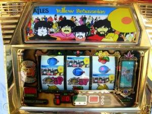 Beatles spelautomat Yellow Submarine