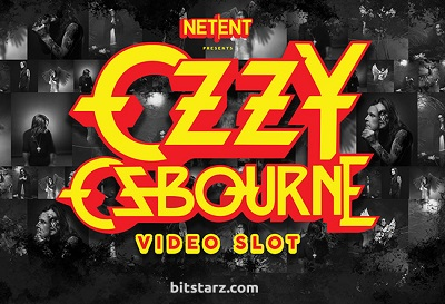 Ozzy Osbourne i samarbete med Netent
