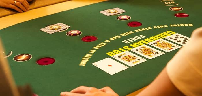 Caribbean Stud Poker regler