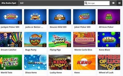 Andra Populära Casinospel Online