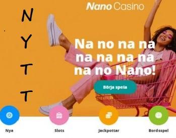 NanoCasino nu LIVE - Nyhet från SvenneCasinos