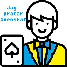 Svensktalande Live Dealers på Online Casino!